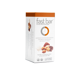 Fast Bars Nuts & Nibs| 5-Pack - Single Box